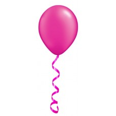"11"" Helium Filled Plain Latex Balloons"