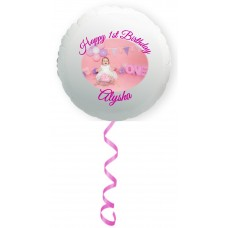 "22"" Helium Filled Photo Balloon"