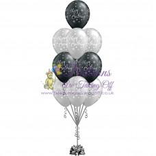 10 Latex Balloon Arrangement