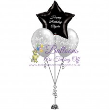 1 Foil & 2 Latex Balloon Arrangement