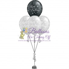4 Latex Balloon Arrangement