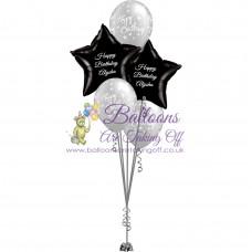 2 Foil & 3 Latex Balloon Arrangement