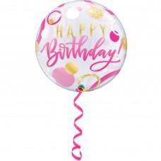 """22"""" Helium Filled Single Bubble Balloon"""