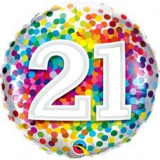 "18"" Flat Design Foil Balloons"