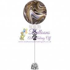 "16"" Helium Filled Design Orbz Balloon"