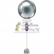 "16"" Helium Filled Plain Orbz Balloon"
