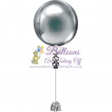"21"" Helium Filled Plain Orbz Balloon"