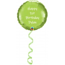 "18"" Helium Filled Personalised Foil Balloons"