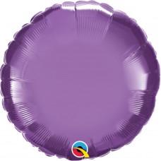 "18"" Flat Plain Foil Balloons"