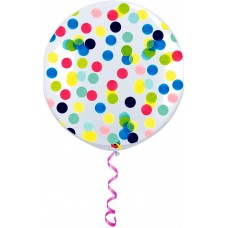 "36"" Helium Filled Confetti Latex Balloons"