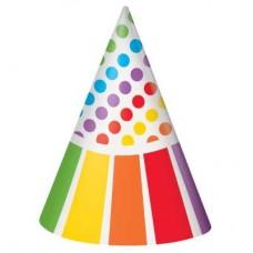 Rainbow Party Hat Plain