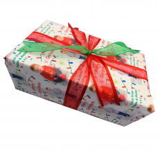 """Personalised Gift Wrap 24"""" x 1m Roll"""